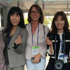 Group of ladies delegation Korea