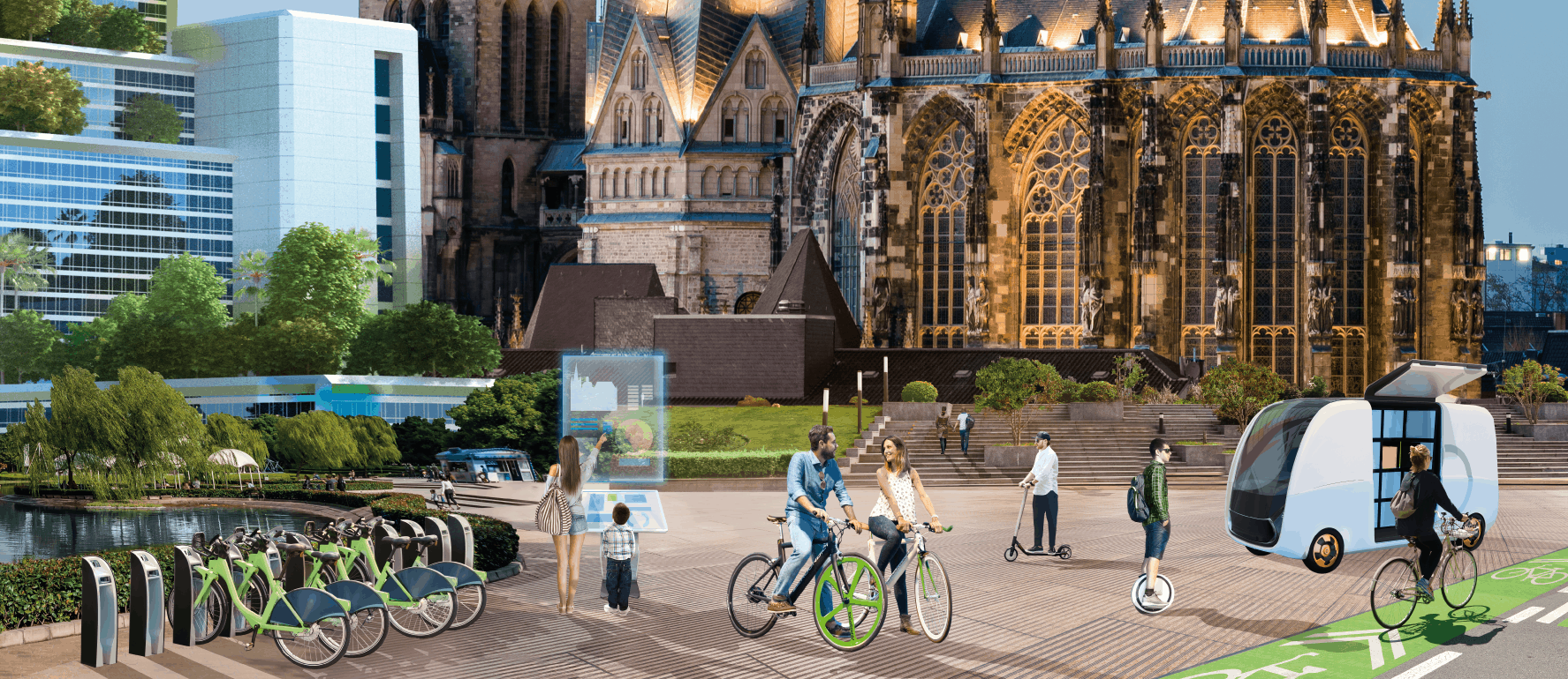 Shaping the mobility of the future together